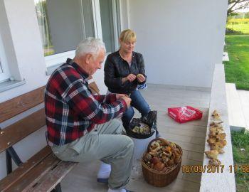 """2017.09.16 Wycieczka integracyjna """"Grzyby-Ryby"""""""
