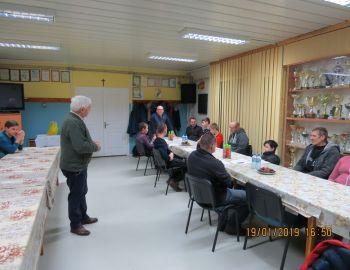 2019.01.19 Zebranie Szkółki Wędkarskiej JAZGAREK