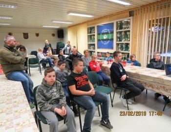 2019.02.23 Spotkanie Młodzieżowej Szkółki Wędkarskiej