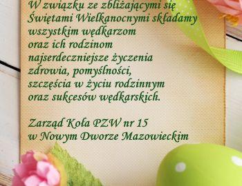 Życzenia z okazji Świąt Wielkanocnych